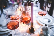 """Pink Is The New Black"" Rosé Wine Class 4/27"
